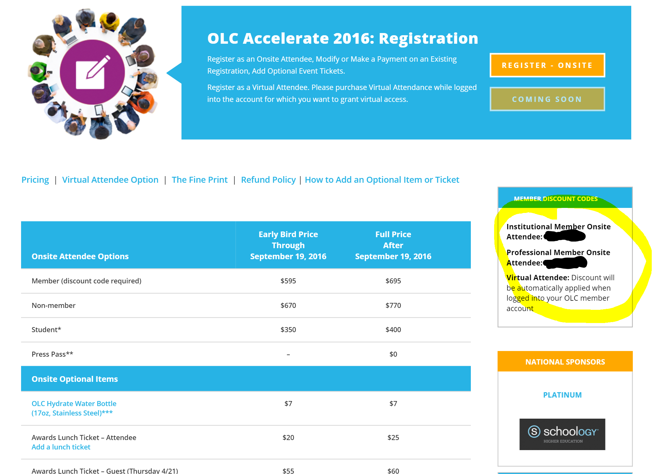 OLC Innovate: Where Do I Find the Member Discount Code for