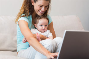New Parents and Online Learning