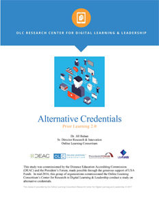 Alternative Credentials Prior Learning 2.0