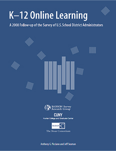 K-12 Online Learning: A 2008 Follow-up of the Survey of U.S. School District Administrators