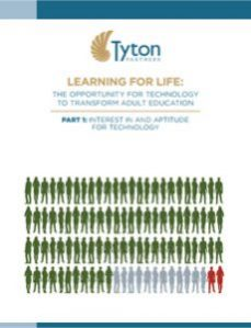 Learning for Life - The Opportunity for Technology to Transform Adult Education