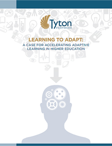 Learning to Adapt - A Case for Accelerating Adaptive Learning in Higher Education