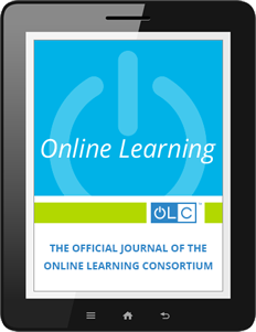 OLC Online Learning Journal