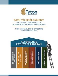 Path to Employment - Maximizing the Impact of Alternative Pathways Programs