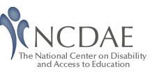 ncdae Logo