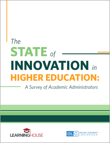 New Report State Of Learning >> Dissecting A Glowing Report On Online Learning Olc