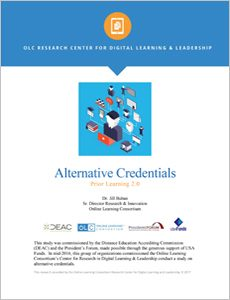Alternative Credentials Prior Learning 2.0 Report