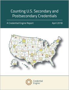Counting U.S. Secondary and Postsecondary Credentials