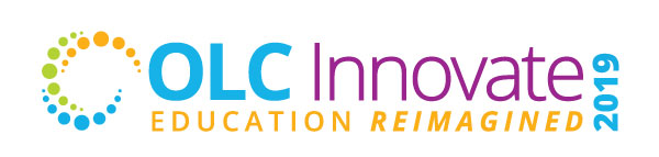 OLC Innovate 2019 Education Reimagined logo