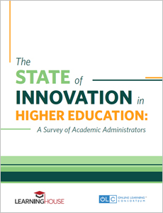 The State of Innovation in Higher Education