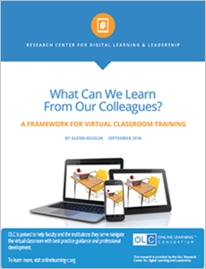 Virtual Classroom Training Survey - What Can We Learn From Our Colleagues?