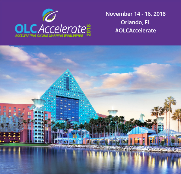OLC Accelerate 2018 - Program Schedule - OLC