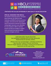 HBCU Summit flier at Innovate 2019 thumbnail image