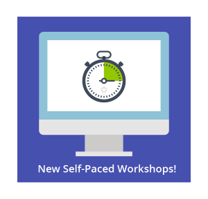 OLC Self-Paced Workshops computer image