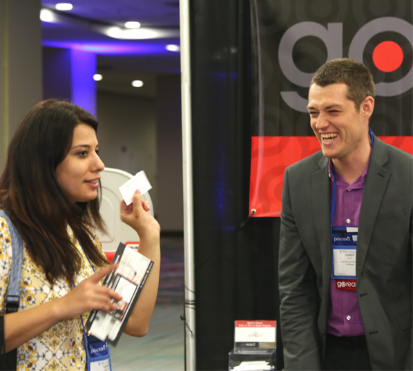 Attendees at OLC Accelerate Conference