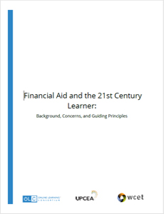 Financial Aid and the 21st Century Learner