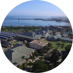 Maui College Campus circle