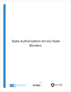 State Authorization Across State Borders