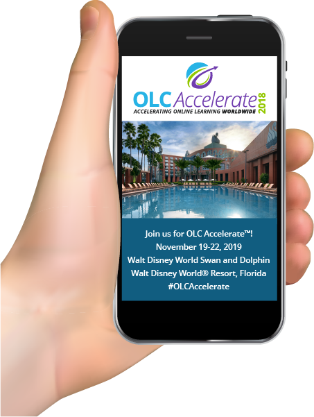 OLC Accelerate Hand Holding Phone