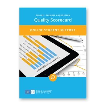 Online Student Support Scorecard Cover