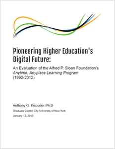 Evaluation of Anytime Anyplace Learning Program