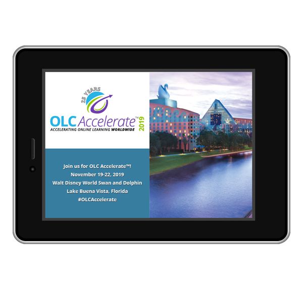 OLC Accelerate 2019 tablet image